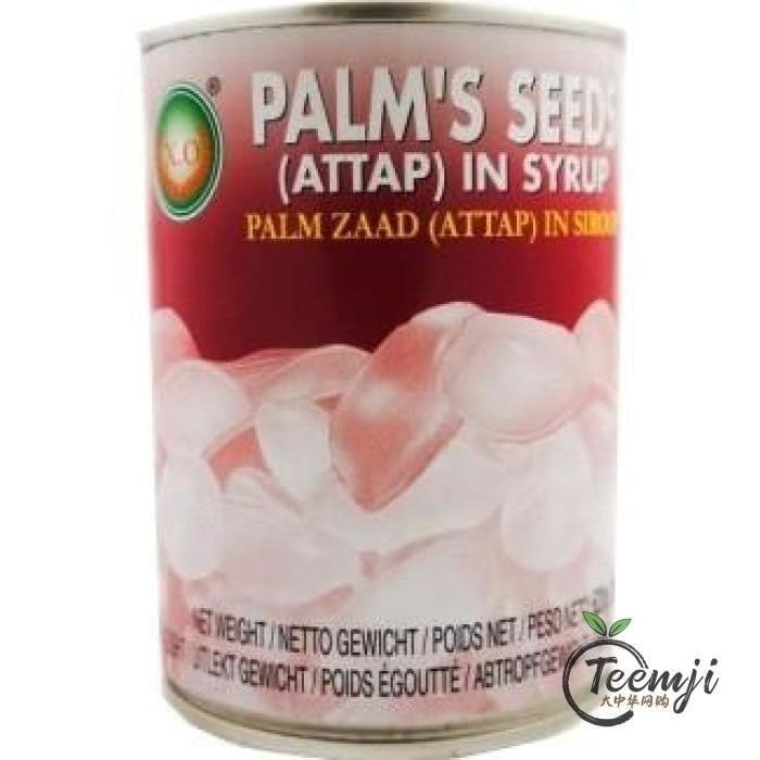 X.o Palms Seeds In Syrup 620G Preserved
