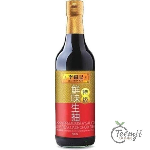 Lee Kum Kee Premium Light Soy Sauce 500Ml Sauce