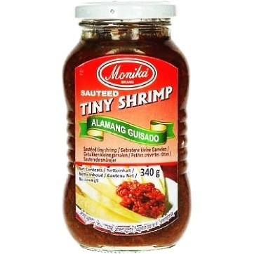 Monika Salted Tiny Shrimp Paste 菲律宾虾酱 340g