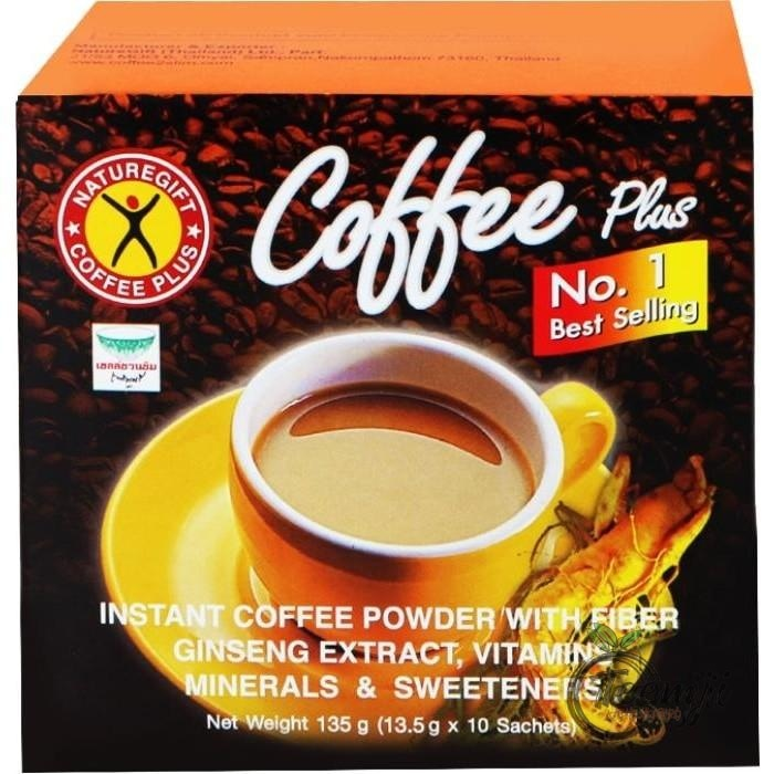 Nature Gift Instant Coffee Powder With Ginseng 135G Tea &