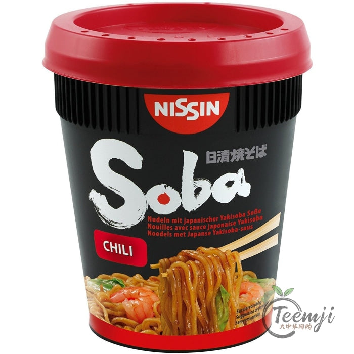 Nissin Noodle Cup With Chili 92G