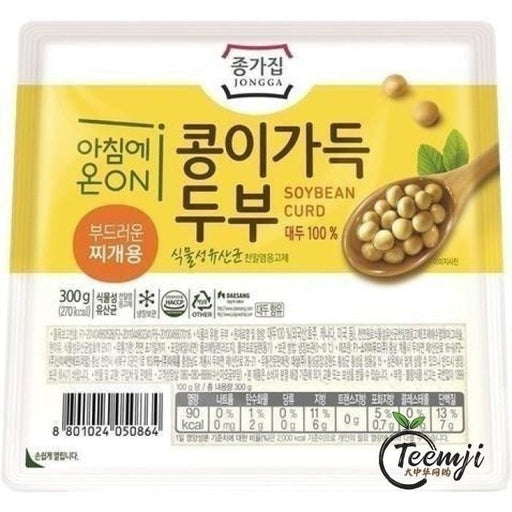 Jongga Soft Tofu 300G Fresh Products