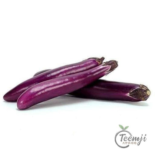 Chinese Eggplant Purple Ca 500G Vegetables