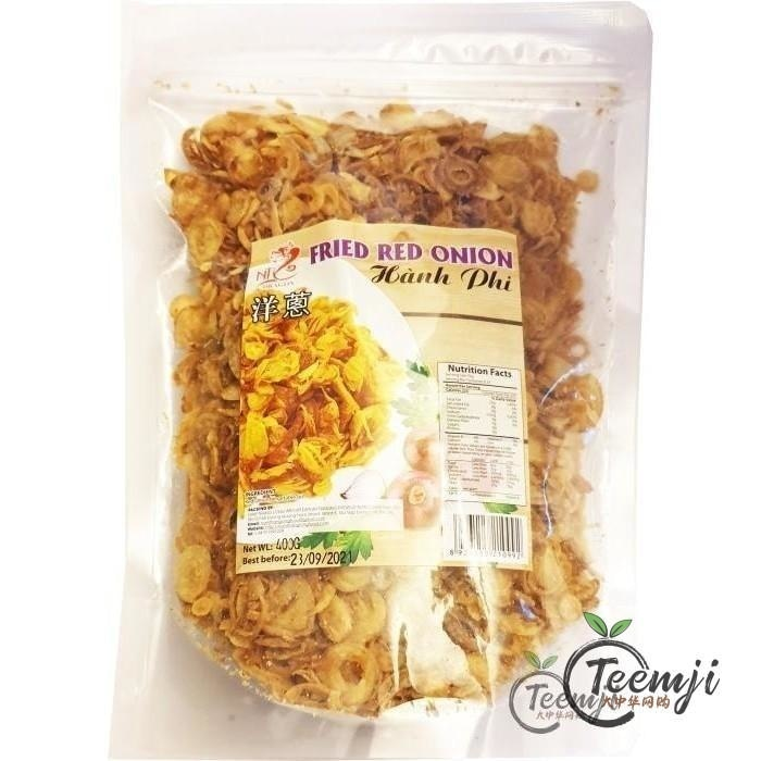 Nt Dragon Fried Red Onion 400G Rice/dried