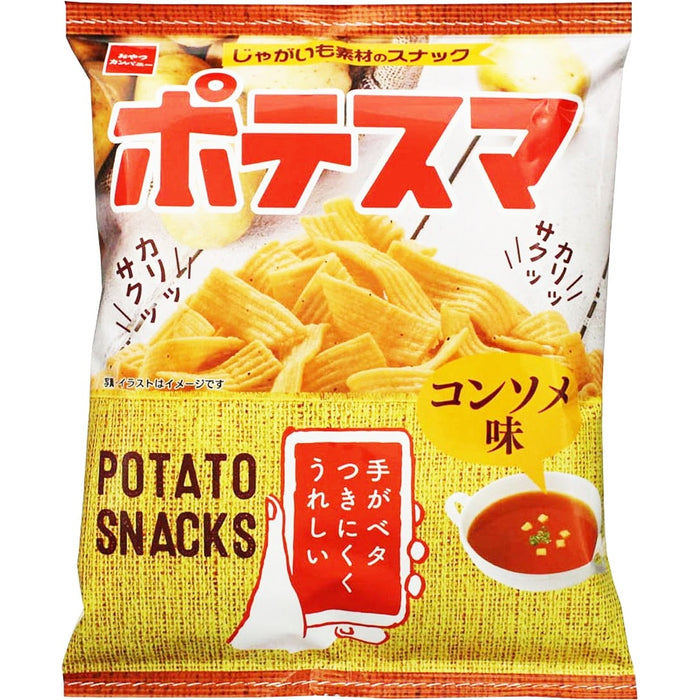 Oyatsu Potato Snacks Consomme Flavour 日本清汤味马铃薯条 61g