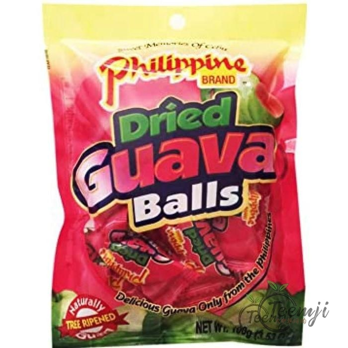 Philippine Brand Dried Guava Balls 100G Snacks