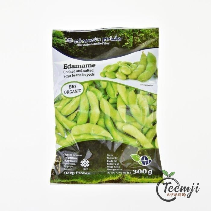 Planets Pride Organic Edamame With Shell 300G Frozen Food
