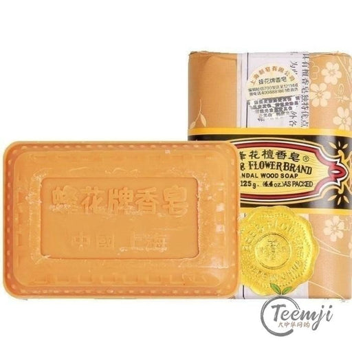 Bee Flower Brand Sandal Wood Soap 81G Healthy Products