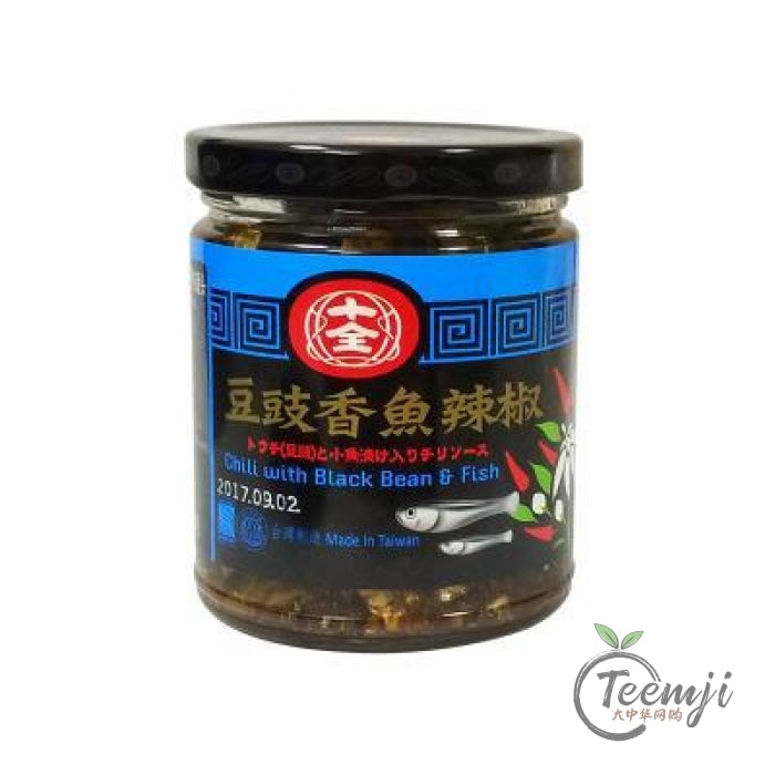 Shih-Chuan Chilli With Black Beans & Fish 240G Sauce