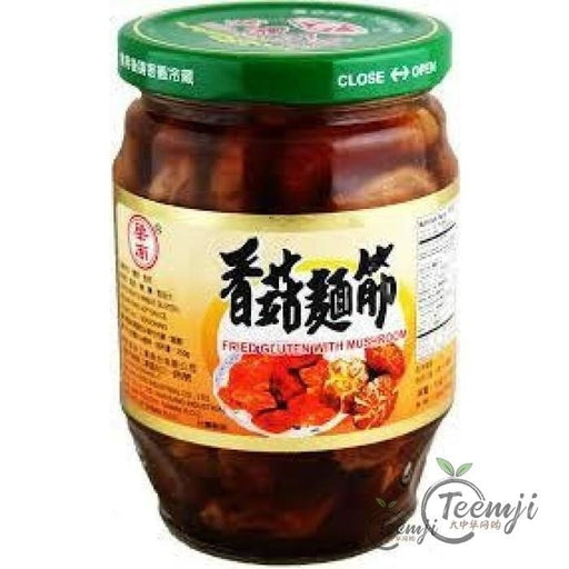 Hwa Nan Foods Fried Gluten With Shitake Mushrooms 369G Preserved