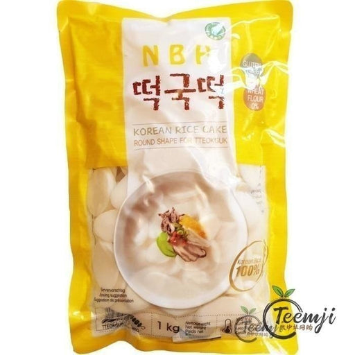 Nbh Korean Rice Cake (Tteokguk) 1Kg Fresh Products