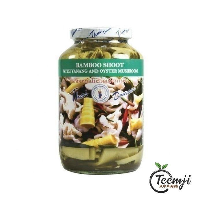 Thai Dancer Bamboo Shoot With Yanang & Oyster Mushroom 680G Preserved