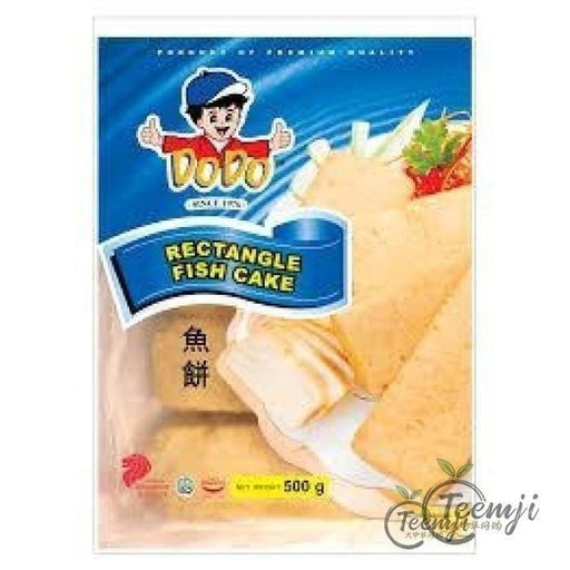 Dodo Rectangle Fish Cake 500G Frozen Seafood