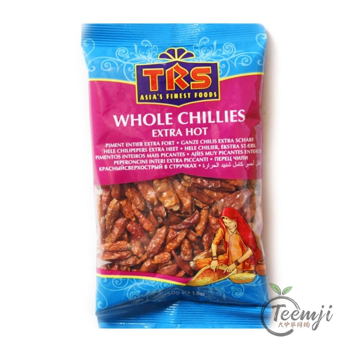 Trs Whole Chilli Extra Hot 50G Spices