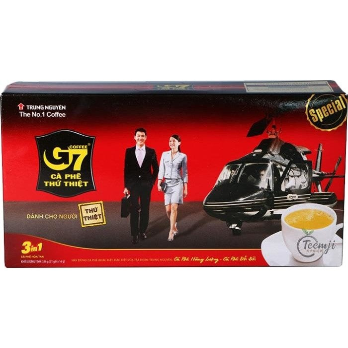 Trung Nguyen G7 Instant Coffee 3 In 1 336G Tea &