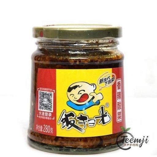 Fsg Spicy Sour Pickled Cabbage 280G Preserved