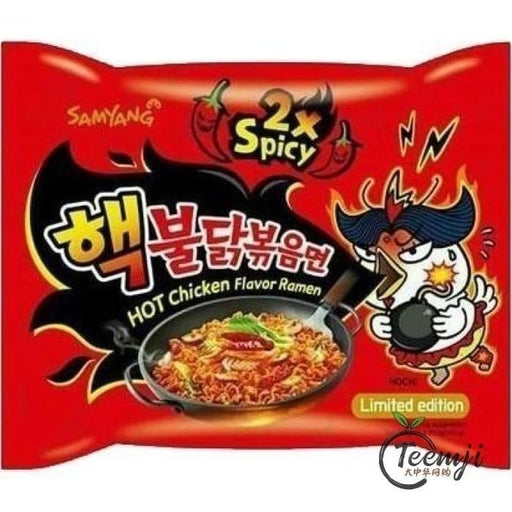 Samyang Hot Chicken Flavor Ramen Double Spicy 140G Noodle