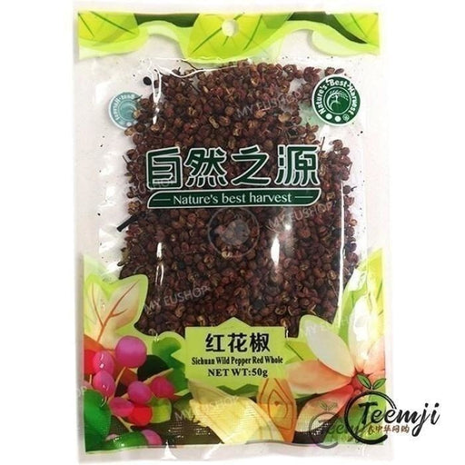 Nbh Sichuan Wild Pepper Red Whole 50G Spices