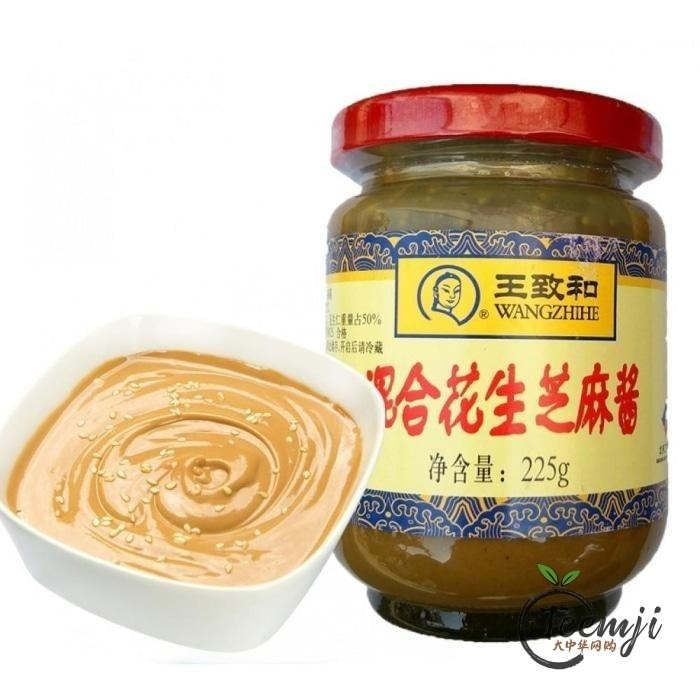 Wzh Sesame Paste With Peanut Mix 225G Paste