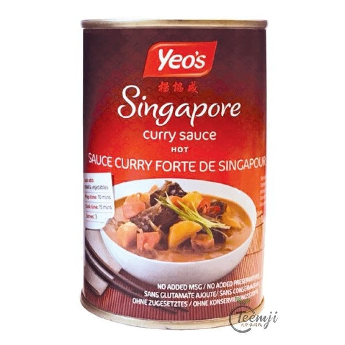Yeos Singapore Curry Sauce 400Ml Sauce