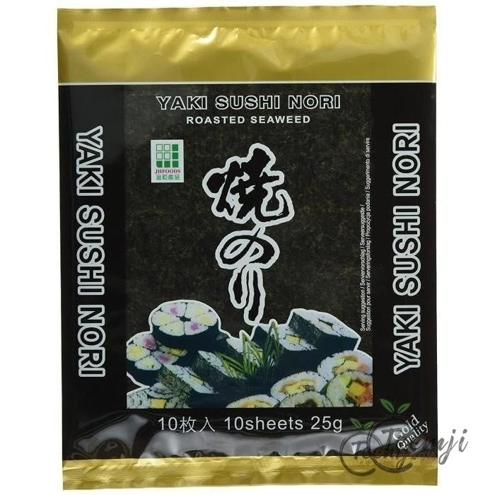 Jhfoods Yaki Roasted Nori Gold Quality 25G Rice/dried