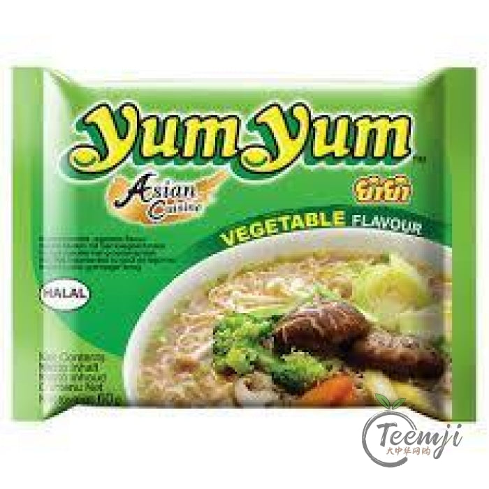 Yum Vegetable Flavour Instant Noodles Noodle Soup 60G