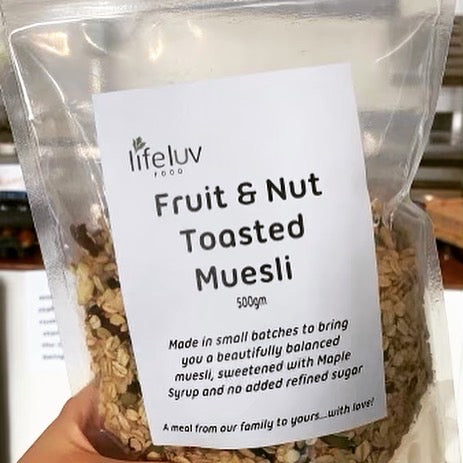 Fruit and Nut Muesli