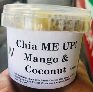 Chia ME UP! - Mango & Coconut 125gm