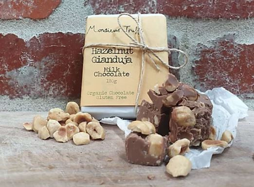 Monsieur Truffe Hazelnut Gianduja Milk Chocolate - 180g