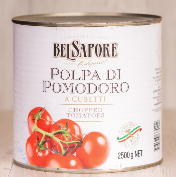 Diced Tomatoes - catering size 2.5kg