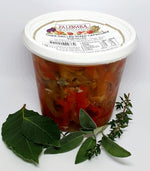 Load image into Gallery viewer, Palomba Sliced Mixed Capsicums 330g