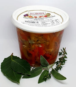 Palomba Sliced Mixed Capsicums 330g