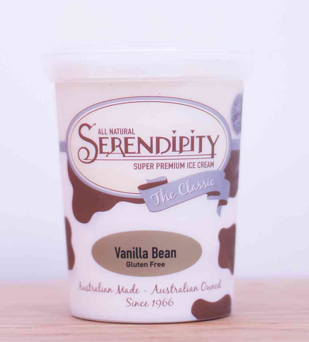 Ice Cream - Vanilla Bean 500ml