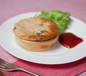 Silly Yaks Chicken, Leek & Mushroom Pie - 190g (gluten free)