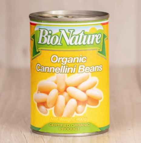 Bio Nature Organic Cannellini beans tin 400 grams