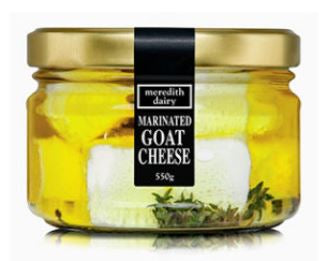 Meredith Dairy Marinated Goat's Cheese - 550g