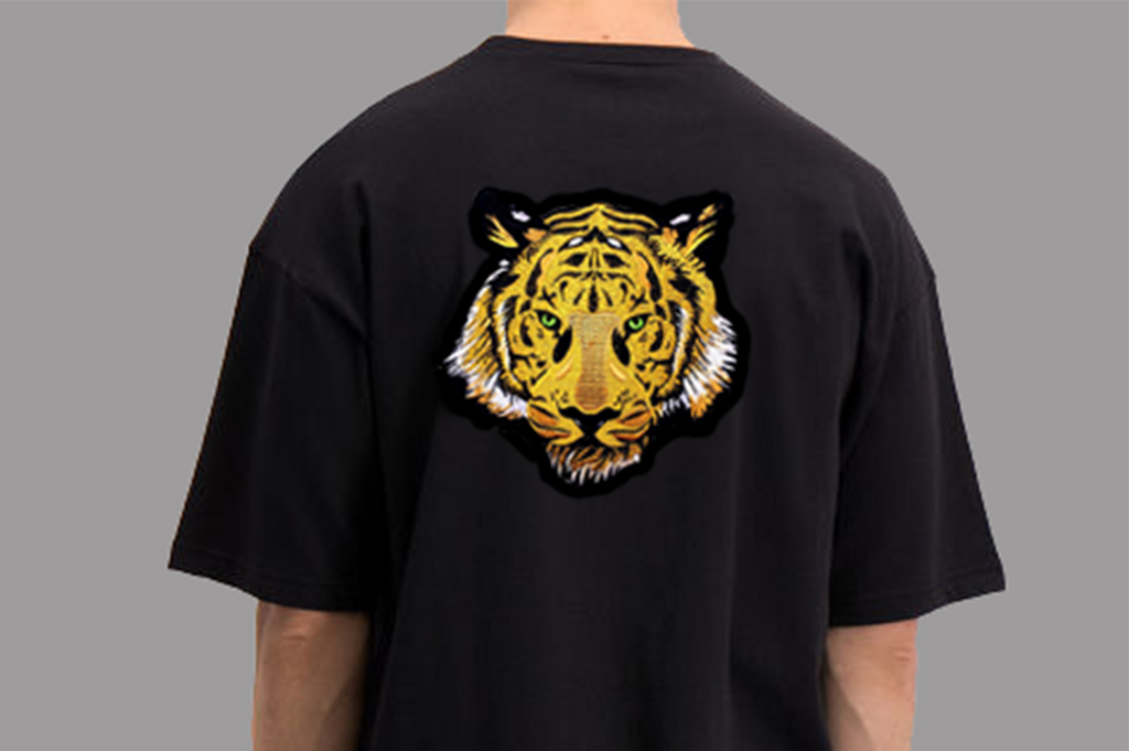 Tiger Soul -  Black T-shirt #1 (Unisex) - Tiger Soul Barcelona