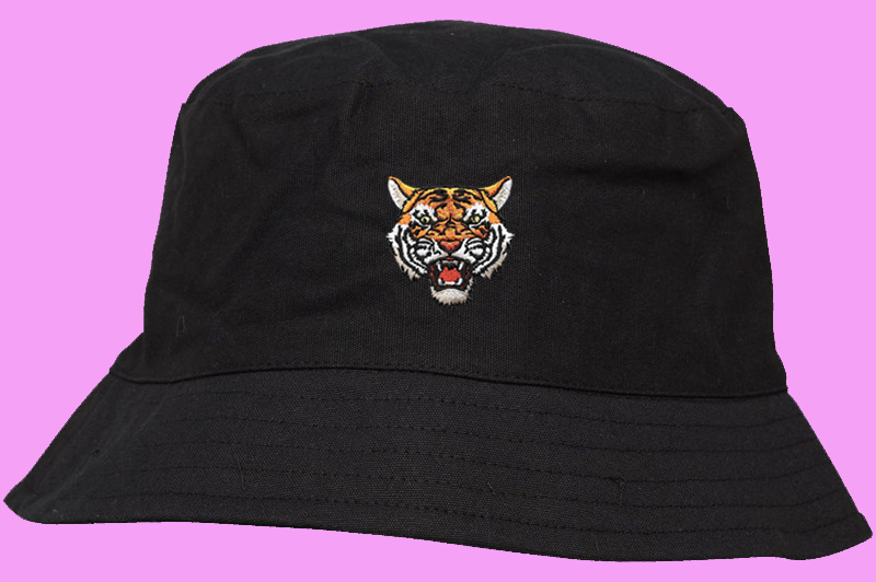 Tiger Soul - Black Bucket Hat - Tiger Soul Brand