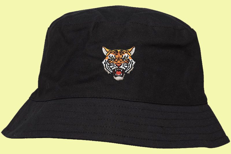 Tiger Soul - Black Bucket Hat - Tiger Soul Barcelona