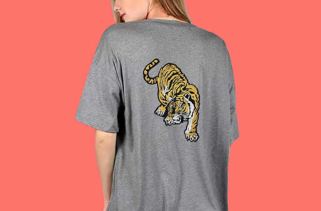 Tiger Soul - Grey T-shirt #2 (Unisex) - Tiger Soul Barcelona