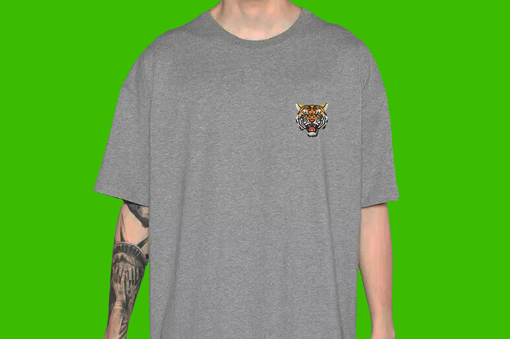 Tiger Soul - Grey T-shirt #3 (Unisex) - Tiger Soul Barcelona