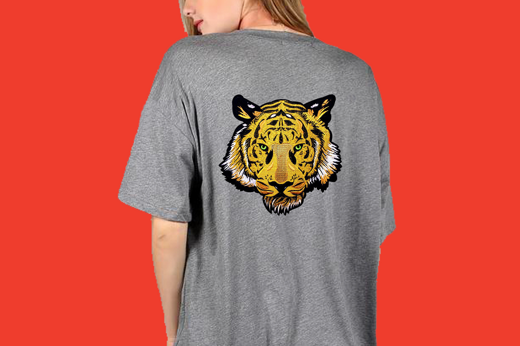 Tiger Soul - Grey T-shirt (Unisex) - Tiger Soul Barcelona