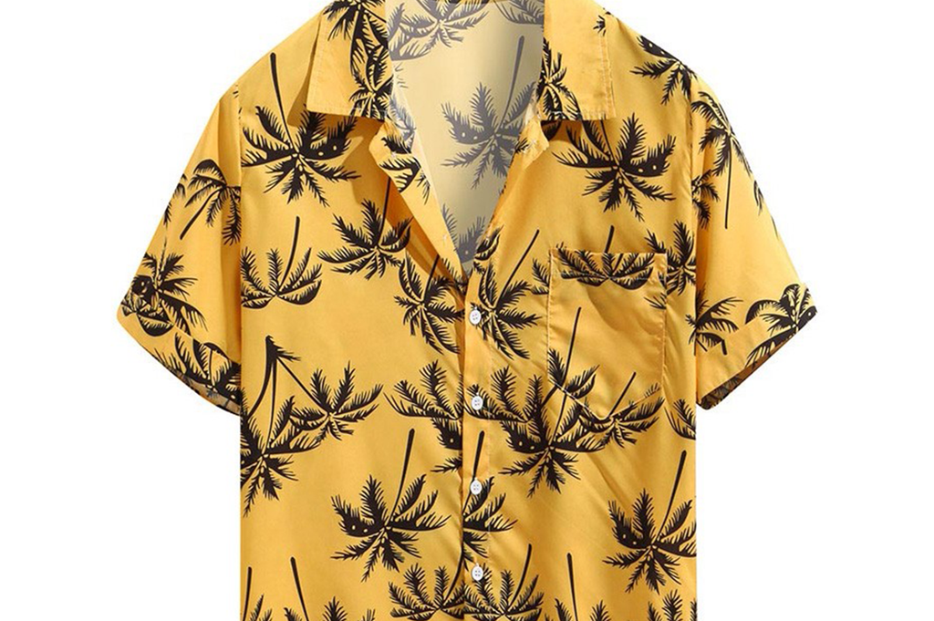 Palms Shirt (Unisex) - Tiger Soul Barcelona