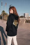 Tiger Soul - Black Face hoodie (GENDERLESS) - Tiger Soul Barcelona