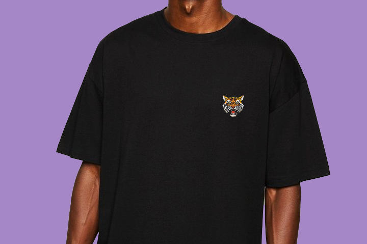 Tiger Soul - Black T-shirt (Unisex) - Tiger Soul Barcelona