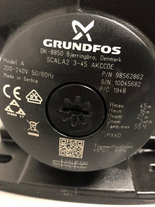 Stock Pompe Grundfos ad inverter - Stock Industria - Stock Commercio