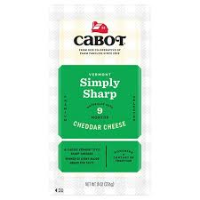 Cabot Vermont Sharp Cheddar Cheese 8oz