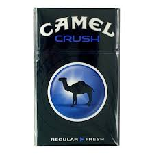 Camel Crush Blue and Black Box