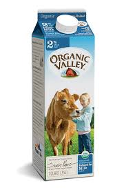 Organic Valley 2% Milk 1 quart