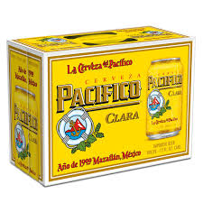 Pacifico (12 pack cans)